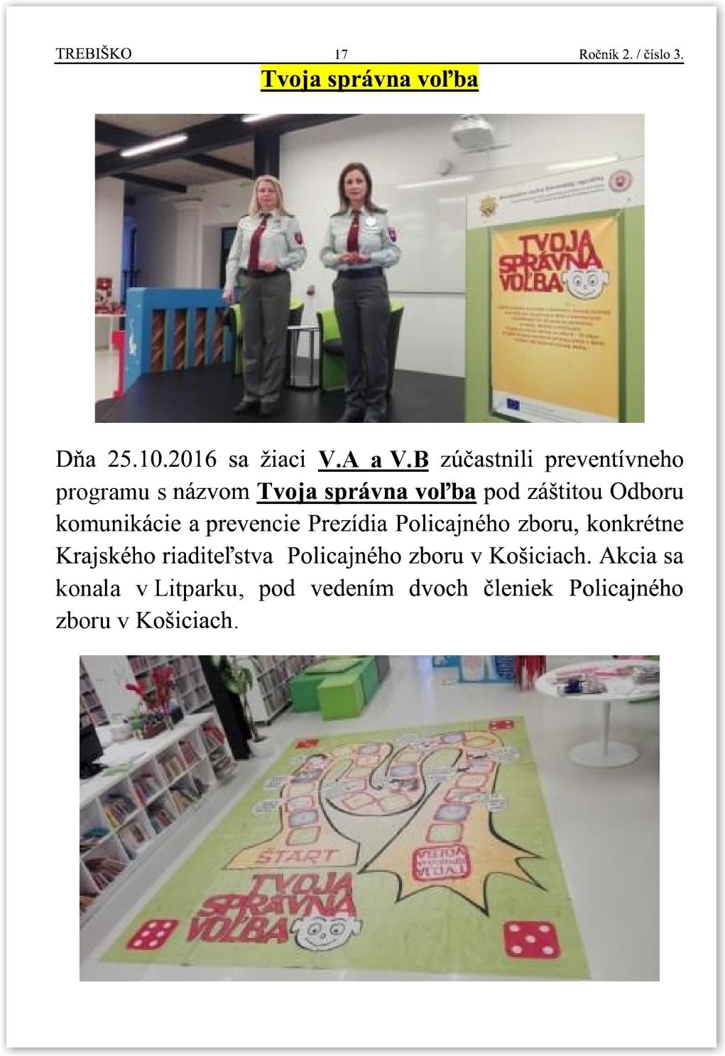 Trebiško 2016-2017